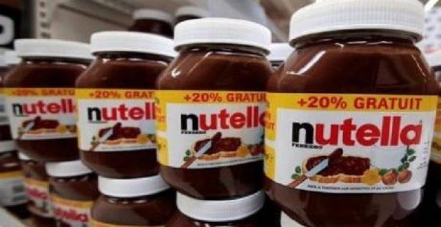 """إغلاق أحد أكبر مصانع """"نوتيلا"""" في العالم بسبب مشكلة في الجودة"""
