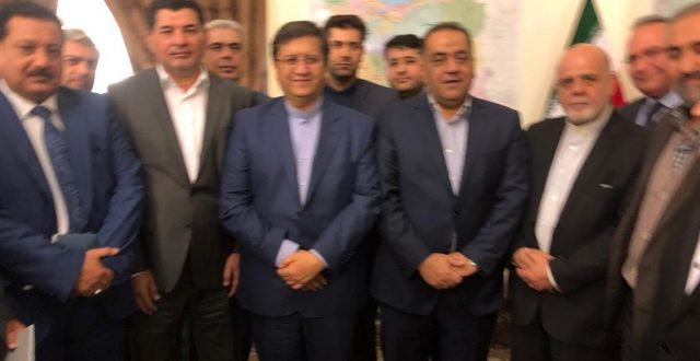 بالصور: وفد غرفة تجارة بغداد يلتقي محافظ البنك المركزي الايراني عبد الناصر همتي