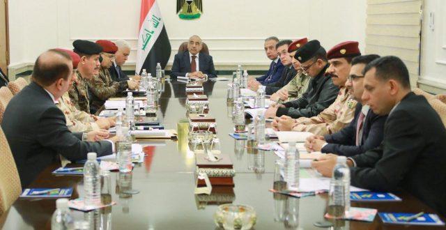 مجلس الأمن الوطني يعقد جلسته الاسبوعية برئاسة رئيس مجلس الوزراء عادل عبدالمهدي
