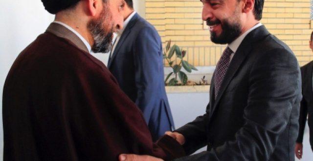 السيد عمار الحكيم والحلبوسي يشددان على رفض تواجد القوات البرية والقواعد العسكرية في العراق