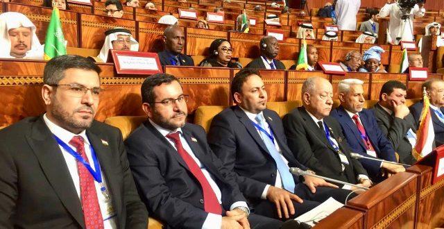 بدء مؤتمر  اتحاد ومجالس الدول الاعضاء لمنظمة التعاون الاسلامي