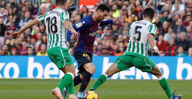 برشلونة يسحق بيتس برباعية ويحلق في صدارة الليغا