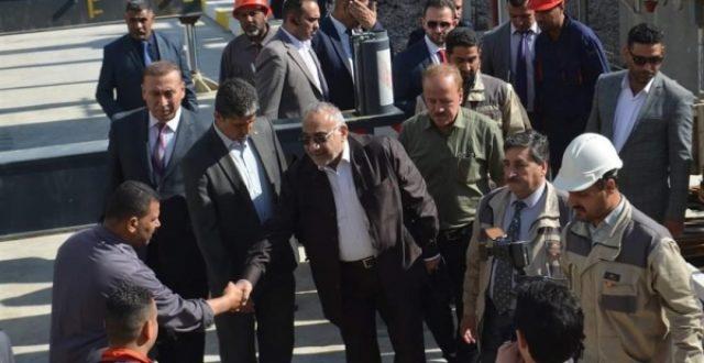 مكتب رئيس الوزراء يوضح زيارة عبد المهدي الى الديوانية