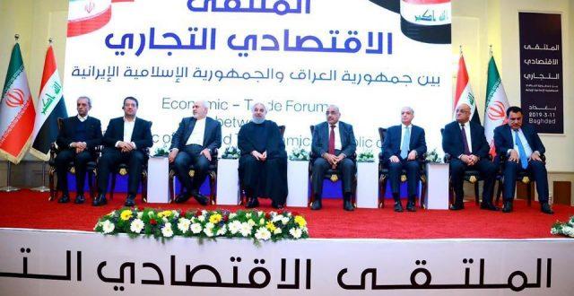 العراق وإيران يتفقان على إقامة مدن صناعية مشتركة وتنفيذ النقل المباشر للبضائع