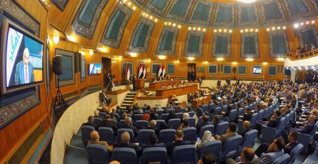 عبدالمهدي يبدأ بالقاء كلمته في جلسة مجلس النواب