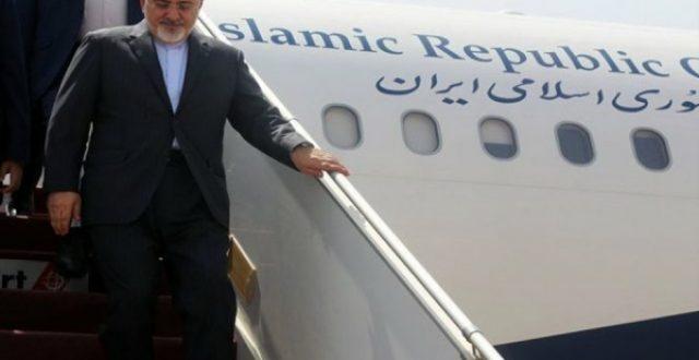 ظريف يصل الى بغداد قبل يومين من زيارة روحاني