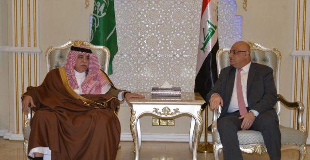 مباحثات عراقية سعودية لتفعيل العلاقات التجارية الاقتصادية