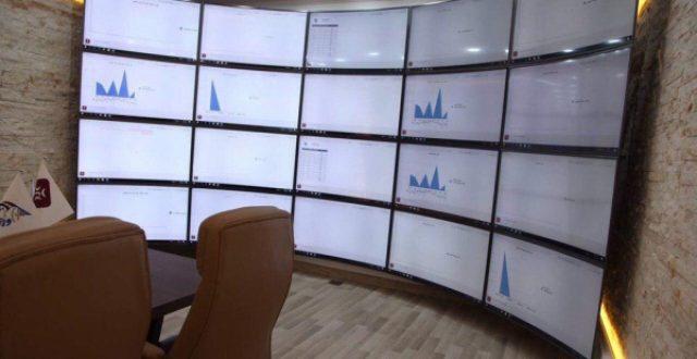 بالصور.. إفتتاح مركز سيطرة الكتروني لبوابات جميع مرائب العراق