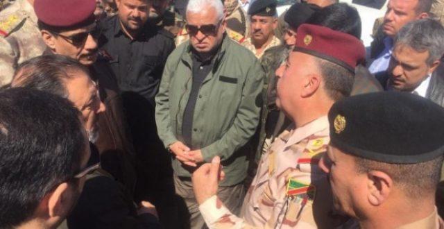 الفياض من الأنبار: مشروع كبير لتأمين الحدود العراقية السورية