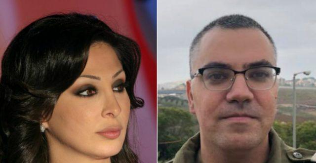 """الفنانة إليسا تصفع المتحدث باسم الجيش الإسرائيلي بـ""""بلوك"""""""