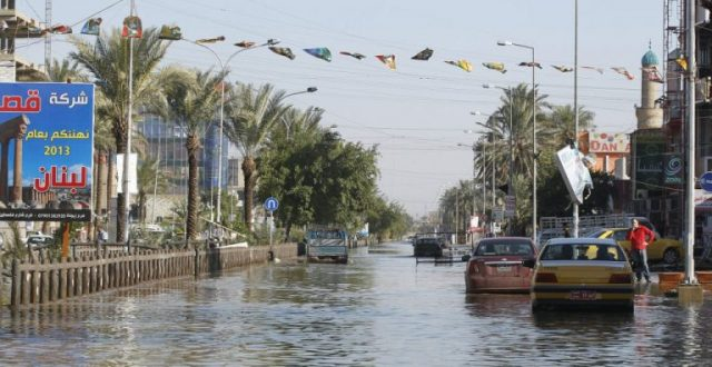 بغداد في انتظار امطار غزيرة