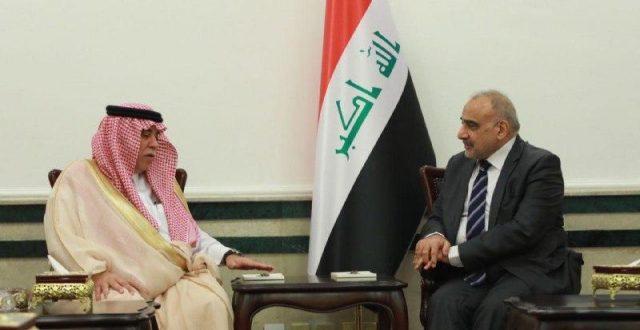 رئيس الوزراء العراقي يستقبل وزير التجارة السعودي .. وهذا ما جرى خلال الاجتماع