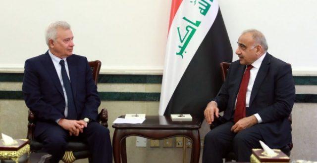 عبدالمهدي يبحث مع رئيس شركة لوك اويل زيادة الاستثمارات ويؤكد حاجة العراق لبناء المصافي
