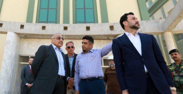عبد المهدي يتفقد مشروع مستشفى الطب العسكري ببغداد ويحث على الإسراع باكماله