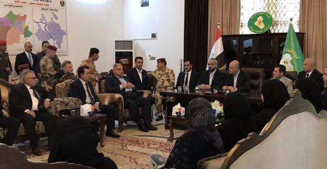 وصول رئيس الجمهورية برهم صالح إلى الموصل لمتابعة حادث غرق العبارة
