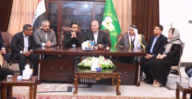 الحلبوسي يدعو لاجتماع الرئاسات الثلاث في الموصل فوراً
