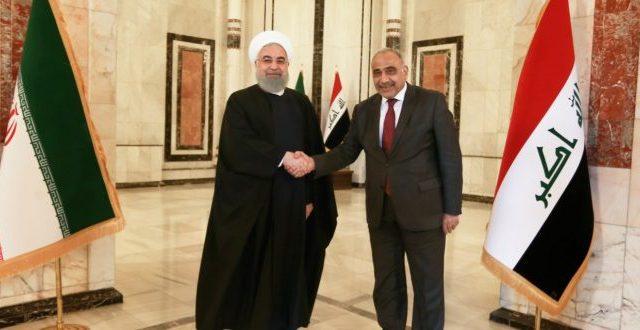عبد المهدي يصل طهران ويلتقي الرئيس الإيراني