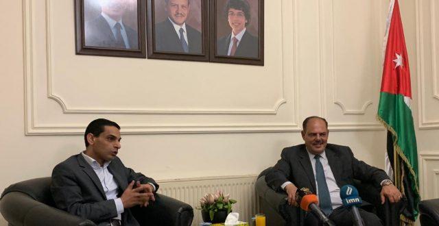 نقيب الصحفيين العراقيين يزور نقابة الصحفيين الاردنيين ويلتقي رئيس واعضاء مجلس النقابة