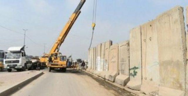 """عمليات بغداد تعلن رفع """"374"""" كتلة كونكريتية في مناطق متفرقة من العاصمة خلال أسبوع"""