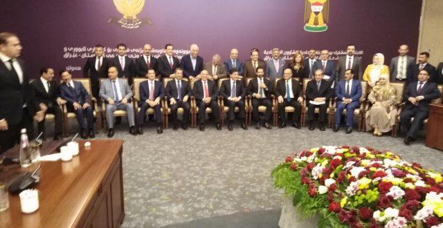 اللجنة الاقتصادية تعقد اجتماعها في أربيل لأخذ قرارات مهمة في الصناعة والزراعة