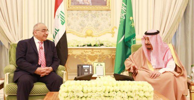 العراق والسعودية يوقعان 13 اتفاقية ومذكرة تفاهم