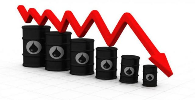 هبوط أسعار النفط بفعل المخاوف الاقتصادية