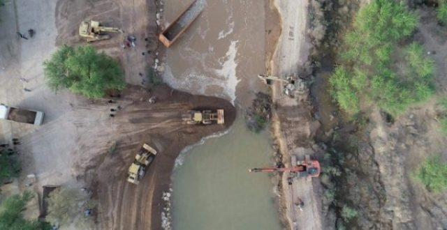 انشاء سدود ترابية في خمس مناطق جنوبي البصرة لدرء الفيضانات