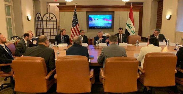 وزير الاتصالات يلتقي أعضاء غرفة التجارة والشركات الأمريكية المهتمة بسوق الاتصالات وتكنولوجيا المعلومات في العراق