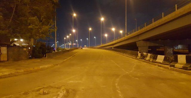 بالصور .. افتتاج شارع قرب جسر ١٤ رمضان باتجاه مدخل مدينة الكاظمية المقدسة