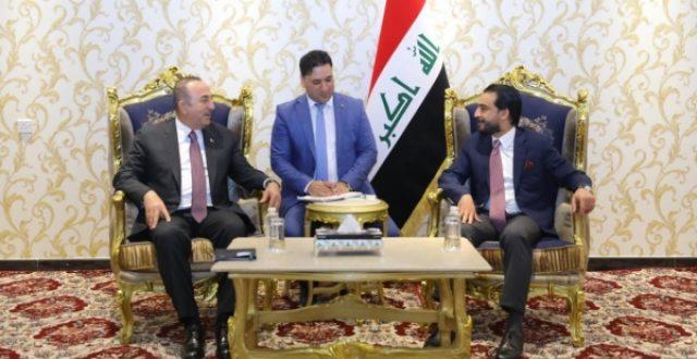 الحلبوسي لاوغلو: العراق يرفض وجود أي معارضة على أرضه تهدد الجوار