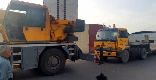 الكتل الكونكريتية تغادر مبنى الوقف الشيعي وسط بغداد