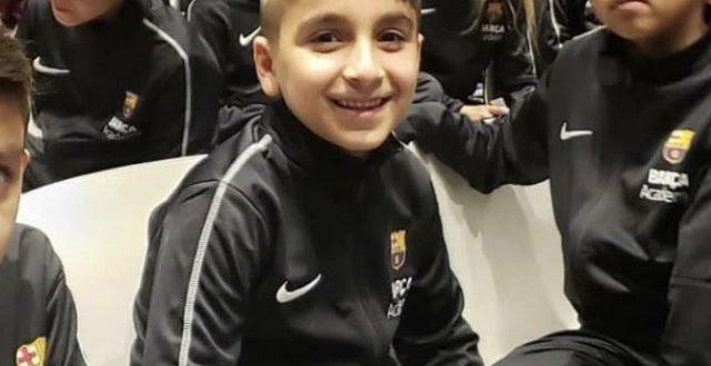 تعرف على اول لاعب عراقي في برشلونة