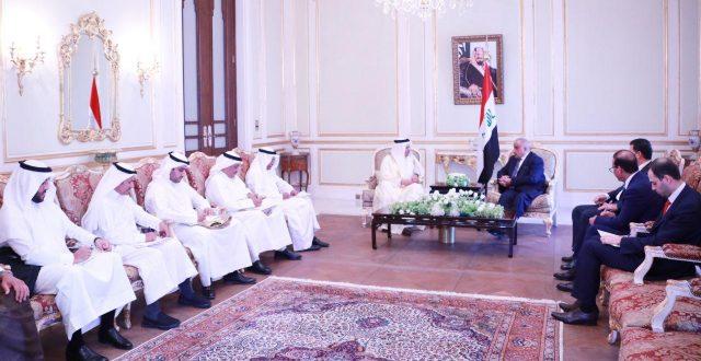 عبدالمهدي يستقبل امين عام منظمة مجلس التعاون لدول الخليج