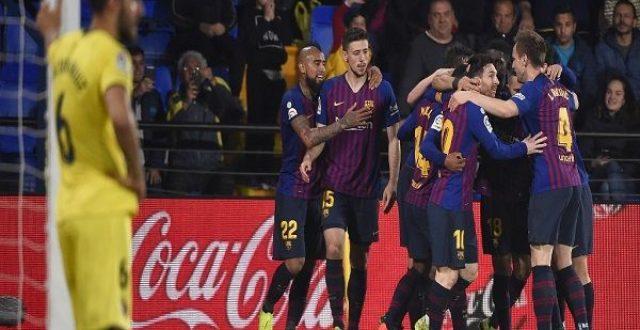 سواريز ينقذ برشلونة في ثواني الأخيرة من خسارة محققة أمام فياريال بمسابقة الليغا