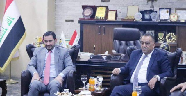 العراق يبحث مع الأردن رفع قيمة التبادل التجاري بين البلدين