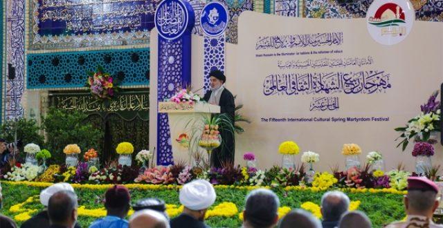 ممثل المرجعية يدعو الى التمسك بالمنهج والاسلوب الامثل للتعايش السلمي بين الطوائف والاديان