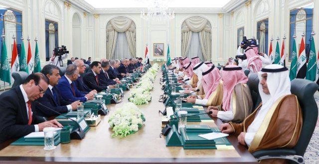 عادل عبدالمهدي : تطوير العلاقات العراقية السعودية حاجة ملحة لنا وللمنطقة ويساعد بتحقيق السلم والتنمية والازدهار