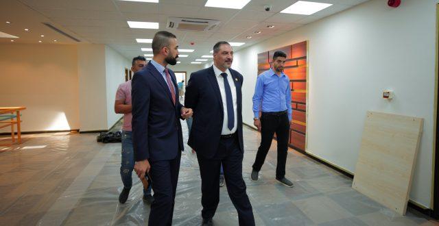 المصرف العراقي للتجارة يقترب من فتح مبنى الادارة العامة الجديد