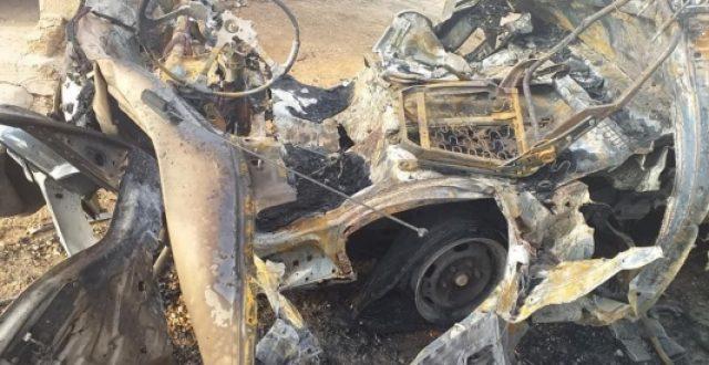 الاعلام الامني: انفجار عجلة مفخخة غربي محافظة الانبار