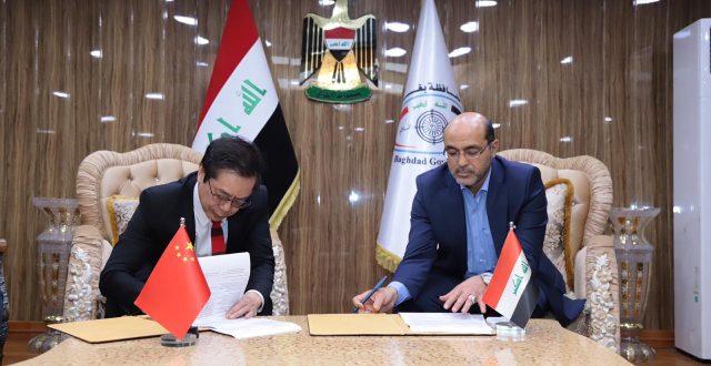 محافظ بغداد يوقع مذكرة تفاهم مع شركة صينية للمشاركة بتنفيذ القطار المعلق