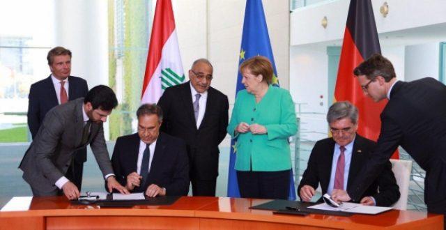 عبد المهدي: اتفقنا على وضع خارطة طريق مع شركة سيمنس لتحسين الكهرباء
