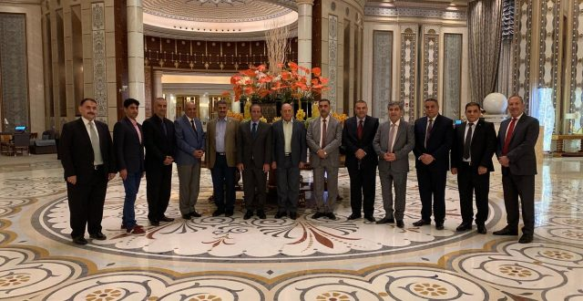 وفد وزارة الداخلية العراقية يلتقي المسؤولين في كلية الملك فهد الامنية وجامعة نايف الامنية في الرياض لبحث التعاون الأمني المشترك بين العراق والسعودية