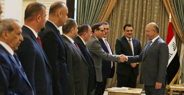 رئيس الجمهورية يستقبل رئيس وأعضاء إتحاد الغرف التجارية