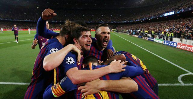 برشلونة يقسو على ليفربول بثلاثية نظيفة ويضع قدماً في نهائي الأبطال