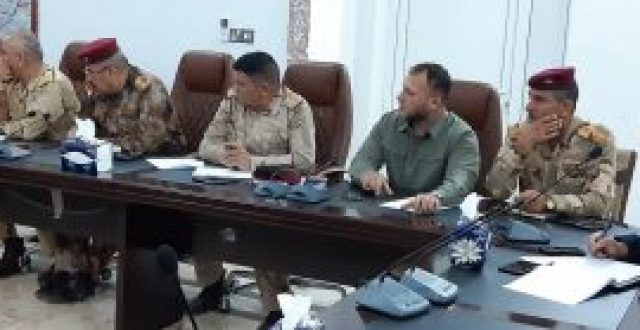 اجتماع امني لتعزيز الدور الاستخباري في نينوى