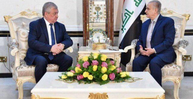 وزير الخارجية ومبعوث بوتين يبحثان دعوة العراق لإيجاد حلول مستدامة للتحديات الاقليمية
