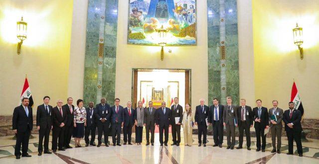 عبد المهدي يستقبل أعضاء مجلس الأمن الدولي
