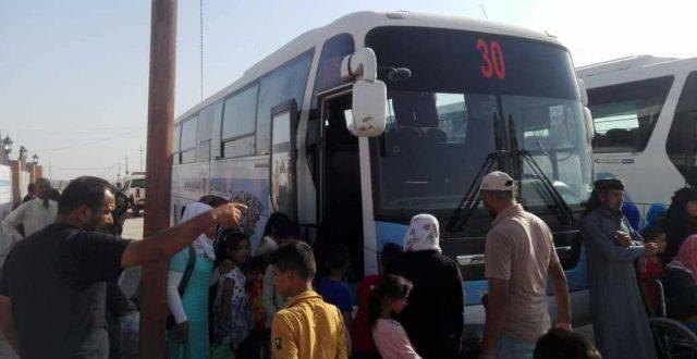 وزارة الهجرة: عودة ( 162 ) نازح لمناطق سكناهم الاصلية في القائم