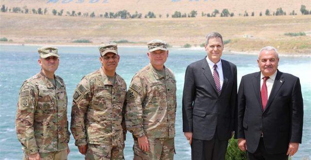 السفير الاميركي من الموصل: العراق يحظى بسد مستقر قادر على توفير المياه