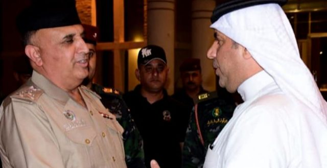 قائد شرطة النجف يزور القنصلية البحرينية بالمحافظة